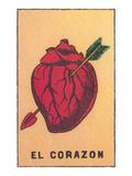 Heart Pierced by Arrow Poster