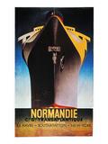 Steamship Normandie, C1935 Gicléetryck