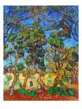 Van Gogh: Hospital, 1889 Giclée-Druck von Vincent van Gogh