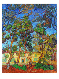 Van Gogh: Hospital, 1889 Giclee Print by Vincent van Gogh