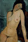 Modigliani: Nude, C1917 Giclée-tryk af Amedeo Modigliani