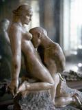 Rodin: Lovers, 1911 Fotografisk tryk af Auguste Rodin