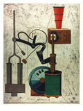 Picabia: Parade Giclee-trykk av Francis Picabia