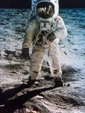 Apollo 11: Buzz Aldrin Premium-Fotodruck