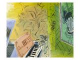 Dufy: Claude Debussy, 1952 Giclee-trykk av Raoul Dufy