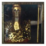 Klimt: Pallas Athena, 1898 Giclée-Druck von Gustav Klimt