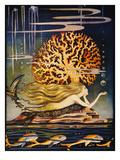 La Sirenita Lámina giclée por Jennie Harbour