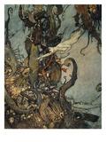 Andersen: Pequena Sereia Impressão giclée por Edmund Dulac