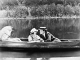 Silent Film Still: Couples 写真プリント