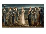 Psyché Reproduction procédé giclée par Edward Burne-Jones