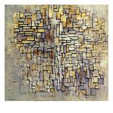 Mondrian: Composition, 1913 Gicléedruk van Piet Mondrian