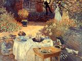 Monet: Luncheon  C1873