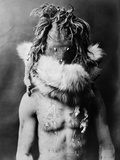 Navajo Mask, C1905 Photographic Print by Edward S. Curtis