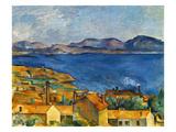 Cezanne:Marseilles,1886-90 Giclée-tryk af Paul Cézanne