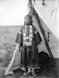 Sioux Girl, C1905 Photographic Print by Edward S. Curtis