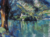 Cezanne: Annecy Lake, 1896 Reproduction procédé giclée par Paul Cézanne