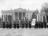 White House: Suffragettes Photographic Print
