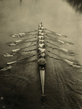 Rowing Team, C1913 Stretched Canvas Print