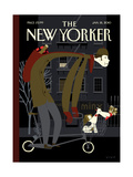 The New Yorker Cover - January 18, 2010 Giclée-Premiumdruck von Frank Viva
