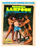 National Lampoon, August 1976 - Compulsory Summer Sex Issue Poster
