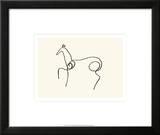 Pferd Kunstdrucke von Pablo Picasso