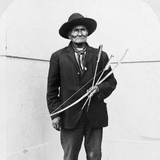 Geronimo (1829-1909) Photographic Print by William Herman Rau