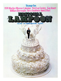 National Lampoon, February 1974 - Strange Sex and a Wedding Cake Poster