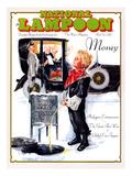 National Lampoon, December 1975 - Money, Peeing on the Men Working Below Posters