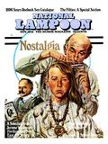 National Lampoon, November 1970 - Nostalgia, a Hippie Haircut Kunstdrucke