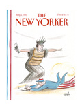The New Yorker Cover - July 6, 1992 Giclee Print by Warren Miller