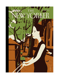 The New Yorker Cover - August 8, 2011 Giclée-Premiumdruck von Frank Viva