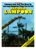 National Lampoon, March 1977 - Rollercoaster: Large Dangerous Things That Go Fast Láminas