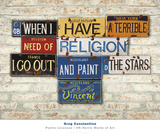 Vincent, Religion Prints by Greg Constantine