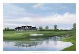 Golfing Reflections Gicléedruk