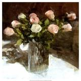 Classic Flowers III Print by Noah Bay