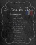 French Menu II Posters