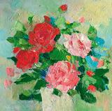 Summer Rose II Affiche par Parastoo Ganjei