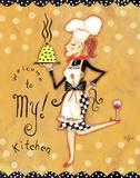 Willkommen in meiner Küche Kunst von Rebecca Lyon