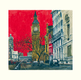End of the Week, Westminster, London Prints by Susan Brown