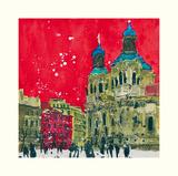 Feast of Stephen, Prague Art par Susan Brown