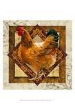 Mamma gallina Stampe di Janet Stever