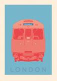 London - Piccadilly Tube Plakat av Ben James