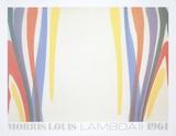 Lambda II Samlertryk af Morris Louis