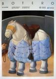 El Caballo del Picador Julisteet tekijänä Fernando Botero
