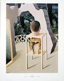 Le Mariage du Minuit Posters por Rene Magritte