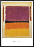 Untitled (Violet, Black, Orange, Yellow on White and Red), 1949 Prints by Mark Rothko