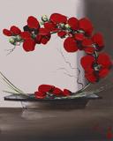 Plume Orchid II Affiches par Olivier Tramoni