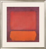 Untitled, 1962 Pôsters por Mark Rothko