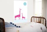 White Giraffe Prints by  Avalisa