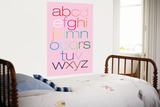 Pink Rainbow Alphabet Prints by  Avalisa